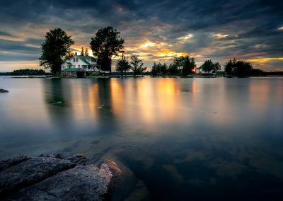 Cottage Sunset