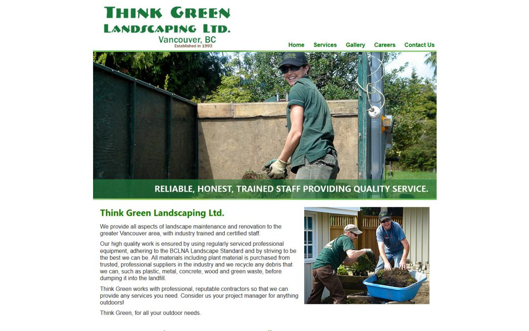 Think Green Landscaping