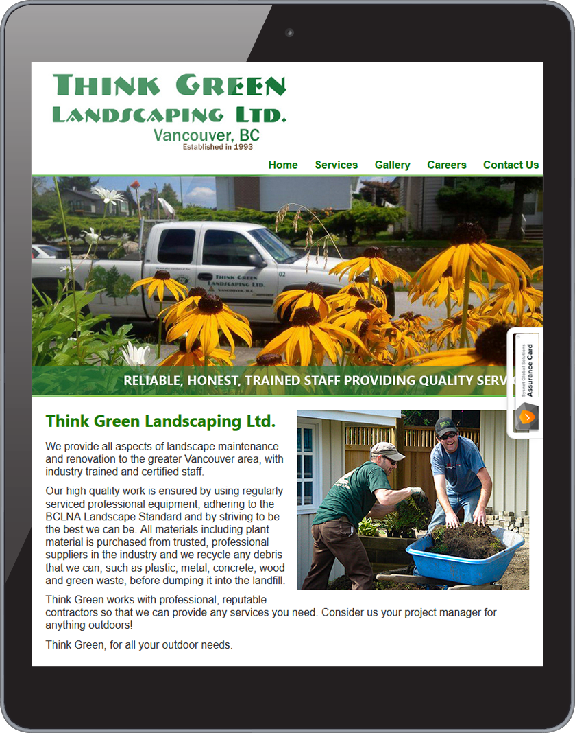 Think Green Landscaping 1