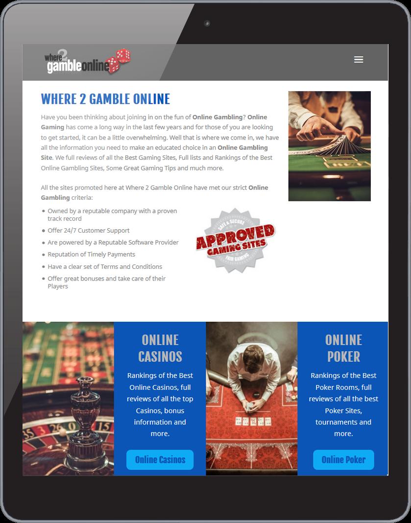 Where 2 Gamble Online Site 1