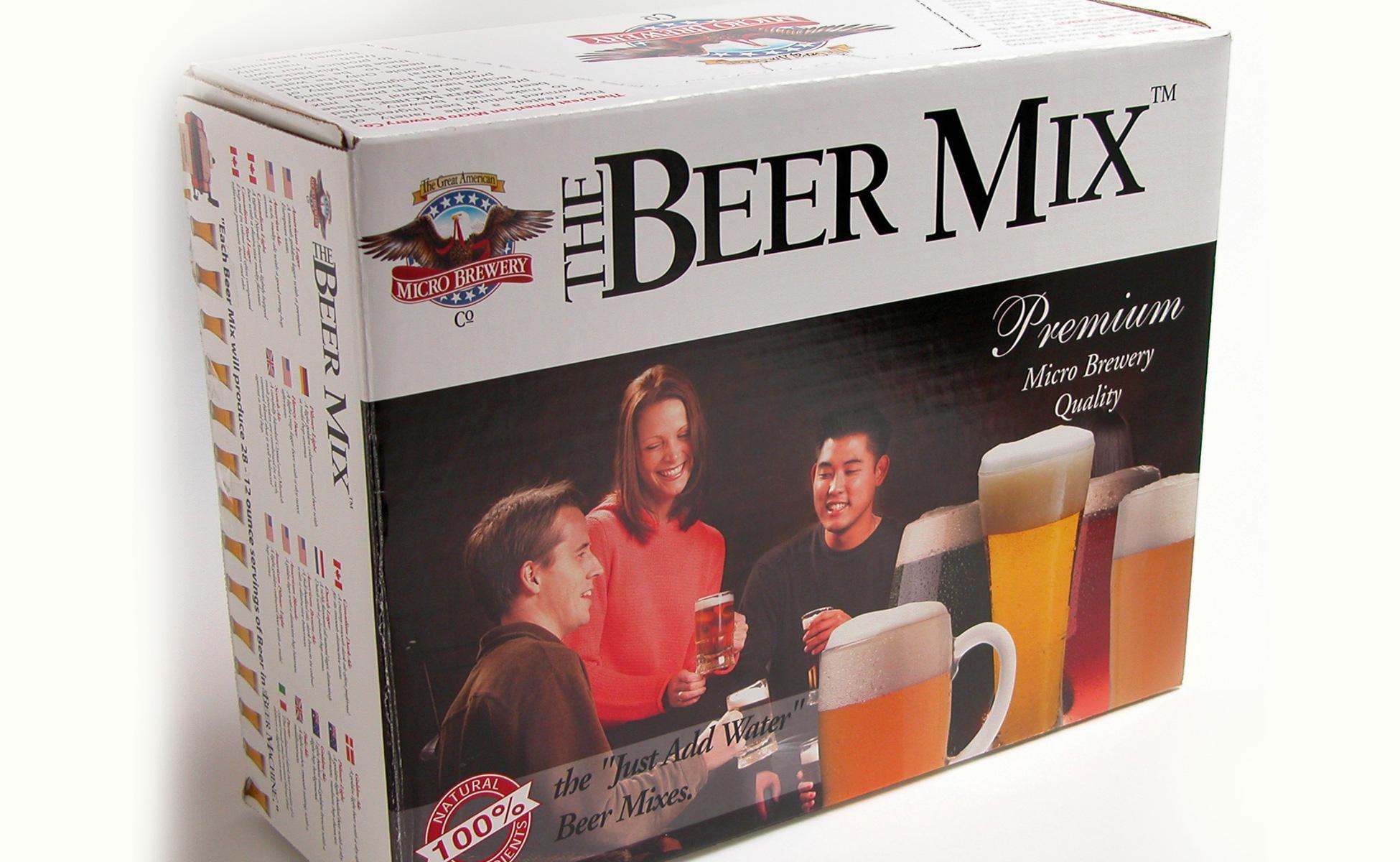 Beer Machine Package Design