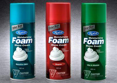 Rexall Shave Cream Package Design