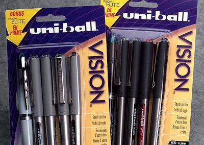 Uni-ball Pens Package Design